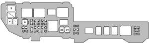 Lexus ES300 (1998)  fuse box diagram  Auto Genius