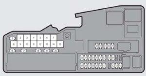 Lexus ES330 (2014  2015)  fuse box diagram  Auto Genius