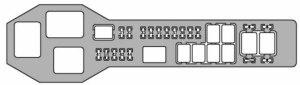 Lexus GS300 (2003  2005)  fuse box diagram  Auto Genius