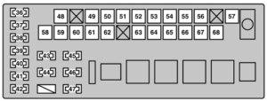2006 Lexus Is250 Fuse Diagram  Circuit Connection Diagram