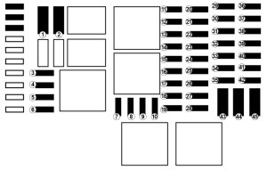 Renault Trafic (2017)  fuse box diagram  Auto Genius
