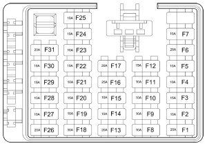 Hyundai Santa Fe (2004  2006) – fuse box diagram  Auto