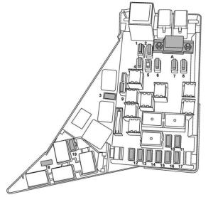Subaru Impreza (2008)  fuse box diagram  Auto Genius