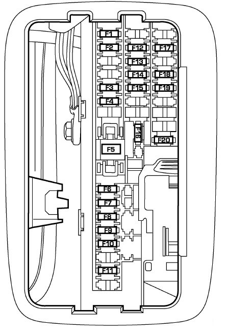 dodge durango fuse box locations wiring diagram table 2001 Dodge Durango Fuse Box Diagram