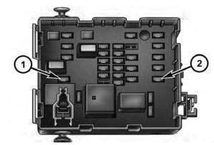 Dodge Journey (2011) – fuse box diagram  Auto Genius