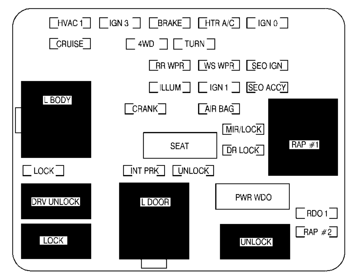Wiring Diagram 2002 Avalanche Seats