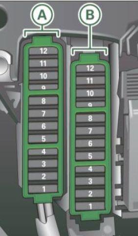 Audi A4 (2011  2012)  fuse box diagram  Auto Genius