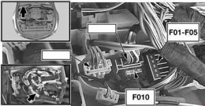 BMW 6 Series (E63, E64) (2004  2010)  fuse box diagram
