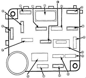 Ford Mustang (1979  1982)  fuse box diagram  Auto Genius