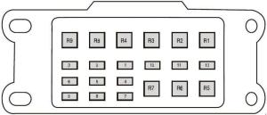 Ford Ranger T6 (2011  2018)  fuse box diagram  Auto Genius