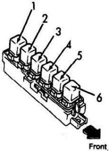 Infiniti G20 (1990  1996)  fuse box diagram  Auto Genius