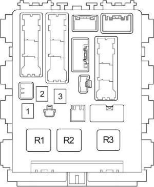 Toyota Avensis T270 (2009 2017)  fuse box diagram  Auto