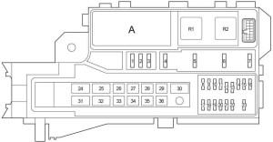 Toyota Hilux (2004 2015)  fuse box diagram  Auto Genius