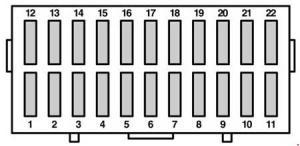 Ford Ka (1996  2008)  fuse box diagram  Auto Genius