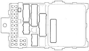 Acura MDX (2001  2006)  fuse box diagram  Auto Genius