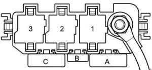 Audi A2  fuse box diagram  Auto Genius