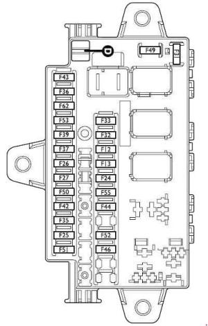 Fiat Ducato (2002  2006)  fuse box diagram  Auto Genius