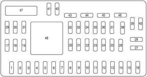 Ford Escape (2008  2012)  fuse box diagram  Auto Genius