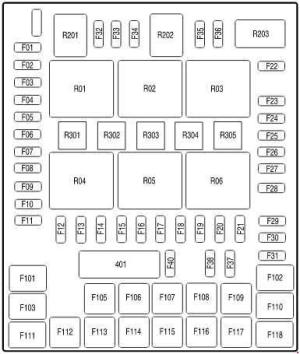 Ford F150 (2004  2008)  fuse box diagram  Auto Genius