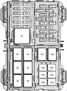 Ford Fiesta (2008  2017)  fuse box diagram  Auto Genius