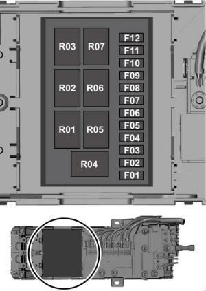 Ford Transit (2014  2018)  fuse box diagram  Auto Genius