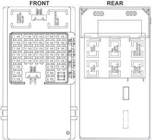 Hyundai Trajet (2004  2008)  fuse box diagram  Auto Genius
