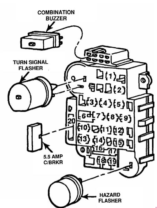 2004 F 150 Relay Switch Fuse Box Diagram
