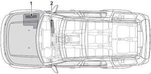 Land Rover Discover (2009  2016) – fuse box diagram