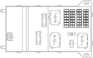 Lincoln MKZ (2007  2009)  fuse box diagram  Auto Genius