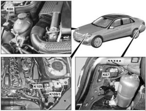MercedesBenz EClass w212 (2009  2016)  fuse box diagram  Auto Genius