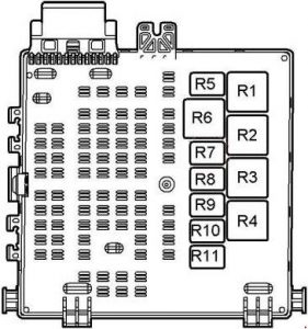 Saab 93 (2003  2012)  fuse box diagram  Auto Genius
