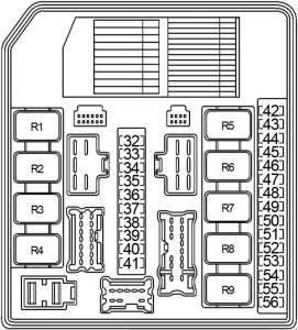 Nissan Sentra (2007  2012)  fuse box diagram  Auto Genius