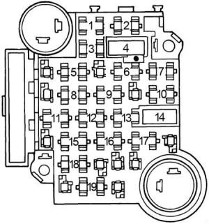 Pontiac Grand Prix (1979)  fuse box diagram  Auto Genius