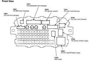 Acura Integra (1998  1999) – fuse box diagram  Auto Genius