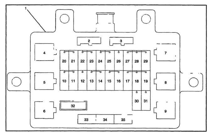 2001 isuzu fuse diagram  save wiring diagrams robhobby