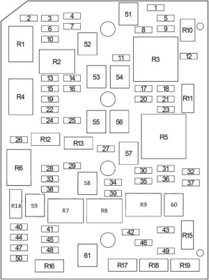 Chevrolet Impala (2006  2013)  fuse box diagram  Auto