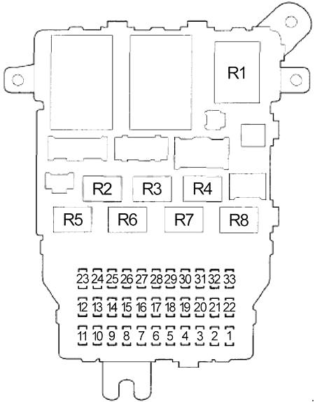 2003 honda accord fuse box  blog wiring diagrams tested