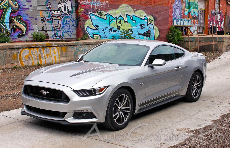 Gt Decal Mustang Hood 88