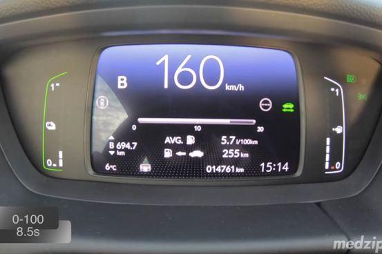 0-160 km / h με το νέο υβριδικό Honda Jazz