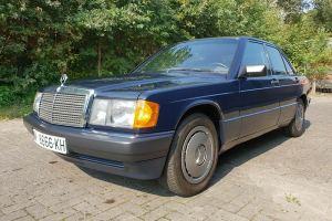 Aristocrat Mercedes 190 του '89 με 8.072 χλμ.