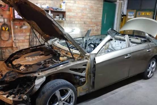 Το Shredded Mercedes CLS έγινε νέο (+ βίντεο)