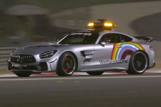 Το F1 Safety Car γιορτάζει!  (+ βίντεο)