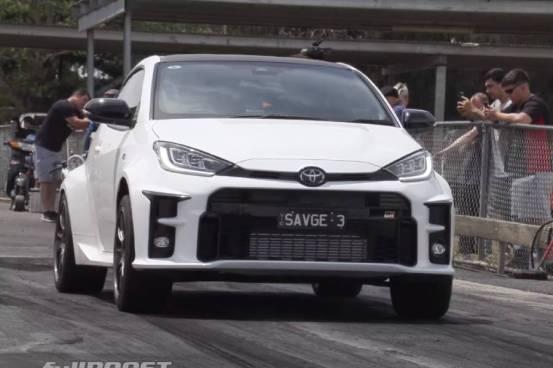 Κυκλοφορία με το Toyota GR Yaris 300hp (+ βίντεο)