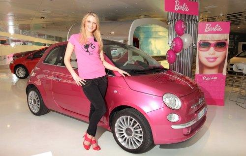 Fiat500 Barbie