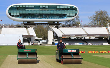 Auto-Rollers at Lords Cricket Ground
