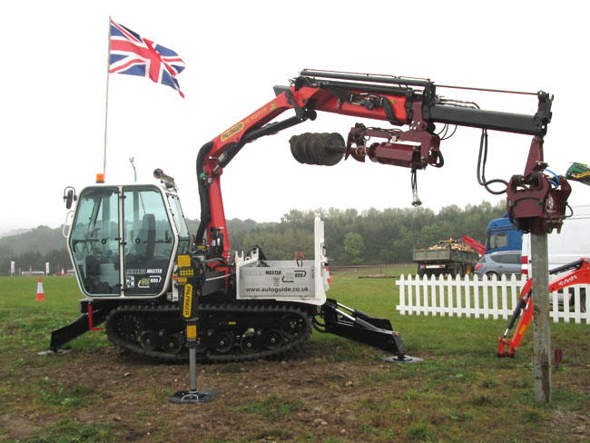 Terrain Master TC600 with Auger, Powerhead and Post Driver