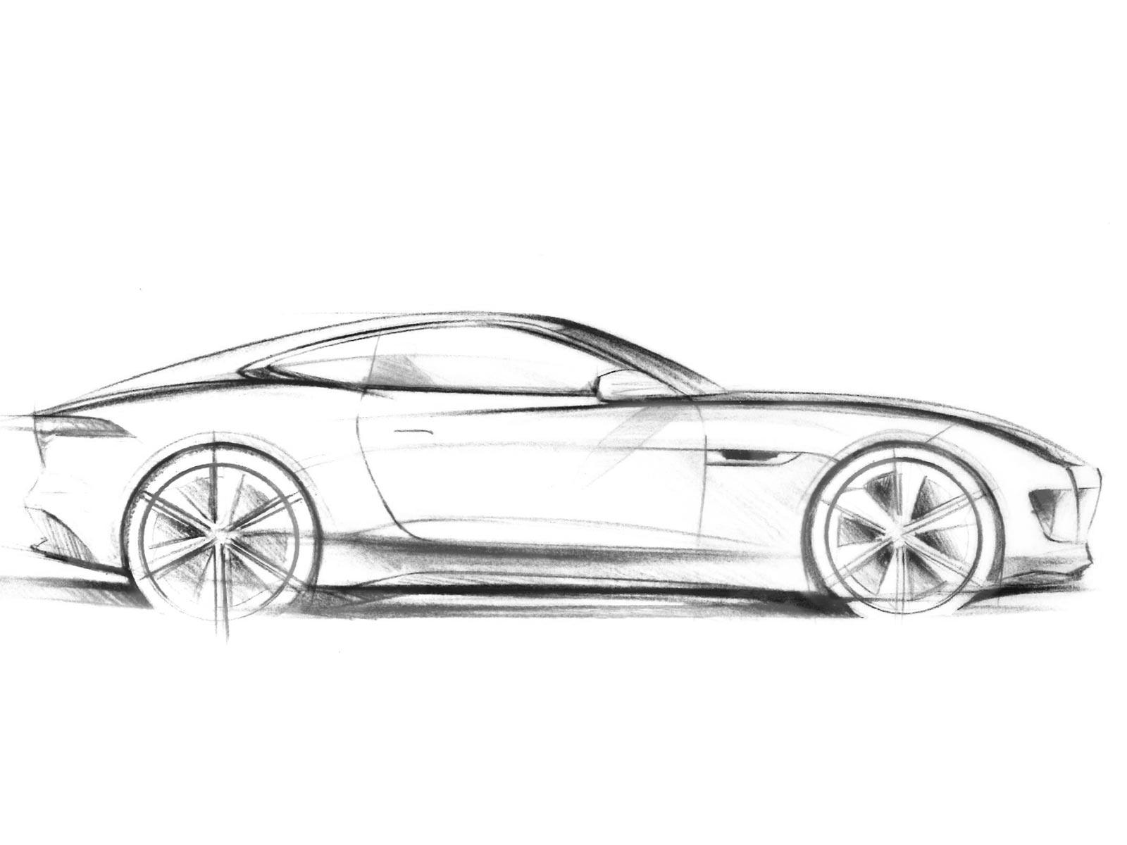 Erste Skizze Vom Jaguar C X16 Autoguru