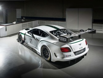 Bentley Continental GT3 debuted at Goodwood Festival [w/Video]