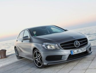 Mercedes Benz A-class Launched at Rs. 21.93 Lakh
