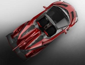 Lamborghini Veneno Roadster Revealed